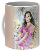Young Girl From Tahiti Coffee Mug