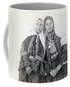 Young Girls Of Bethlehem Year 1896 Coffee Mug
