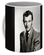 Young John Wayne, Hollywood Legend Coffee Mug