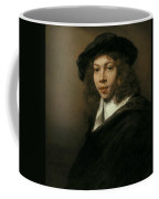 Young Man In A Black Beret Coffee Mug