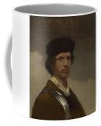 Young Man In A Fur Cap Coffee Mug
