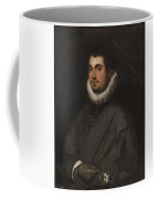 Young Man With A Bouquet Coffee Mug