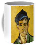 Young Man With A Hat Coffee Mug