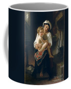 Young Mother Gazing At Her Child Coffee Mug