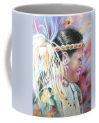 Young Polynesian Mama Coffee Mug