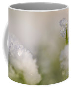 Young Sapling Covered In Ice And Snow  Coffee Mug