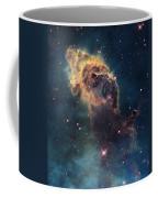 Young Stars Flare In The Carina Nebula Coffee Mug by Nasa/Esa