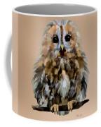 Young Tawny Owl Coffee Mug