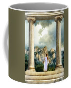 Young Woman As A Classical Woman Of Ancient Egypt Rome Or Greece Coffee Mug