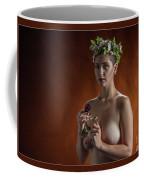 Young Woman Nude 1729.178 Coffee Mug