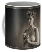 Young Woman Nude 1729.553 Coffee Mug