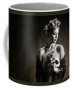 Young Woman Nude 1729.554 Coffee Mug