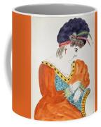Young Woman Wearing A Turban  Coffee Mug