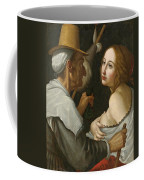 Young Woman With A Fortune Teller Coffee Mug