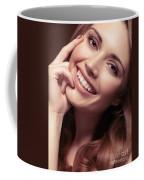 Young Woman With A Natural Smile Coffee Mug
