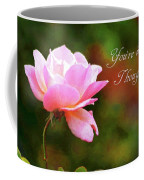 Your In My Thoughts Painting Coffee Mug
