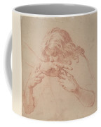 Youth Kissing An Outstretched Hand Coffee Mug
