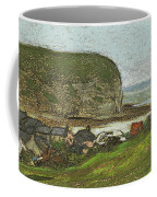Yport And The Falaise D'aval Coffee Mug