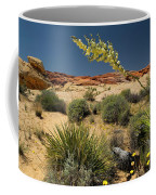 Yucca In The Valley Of Fire Coffee Mug