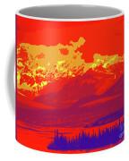 Yukon Mountain Range 4 Coffee Mug
