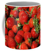 Yummy Fresh Strawberries Coffee Mug