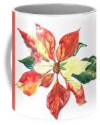 Yupo Poinsettia Coffee Mug