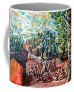 Thanks-giving In A Sacred Shrine Coffee Mug
