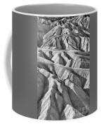 Zabriske Point Death Valley  Bw6398 Coffee Mug