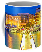 Zadar Colorful Blue Evening View Coffee Mug