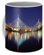 Zakim Aglow Coffee Mug by Rick Berk