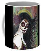 Zatina Day Of The Dead Coffee Mug
