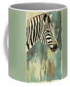 Zebra Abstracts Too Coffee Mug