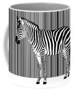 Zebra Barcode Coffee Mug