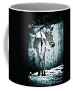 Zebra Blues  Coffee Mug