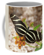Zebra Butterfly Coffee Mug