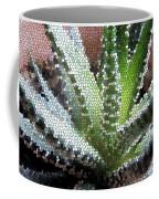 Zebra Cactus  Coffee Mug