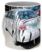Zebra Car Rear Coffee Mug