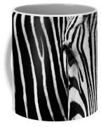 Eye Of The Zebra Coffee Mug