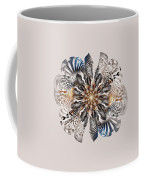 Zebra Flower Coffee Mug
