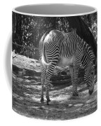 Zebra In Black And White Coffee Mug
