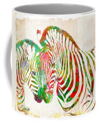 Zebra Lovin Coffee Mug by Nikki Smith