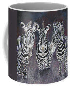 Zebra Oil Painting Coffee Mug