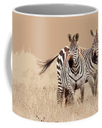 Zebra Pair Coffee Mug
