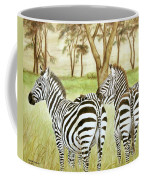 Zebra Pals Coffee Mug
