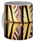Zebra Print Stiletto Coffee Mug