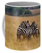 Zebra Protect Each Other Coffee Mug