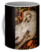 Zebra Skull Coffee Mug