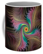 Zebra Spiral Affect Coffee Mug