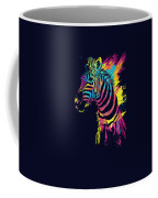 Zebra Splatters Coffee Mug