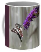 Zebra Swallowtail Butterfly 2 Coffee Mug